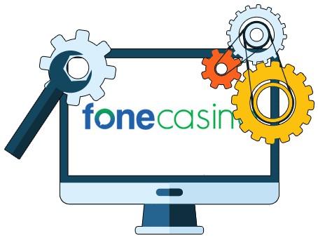 Fone Casino - Software