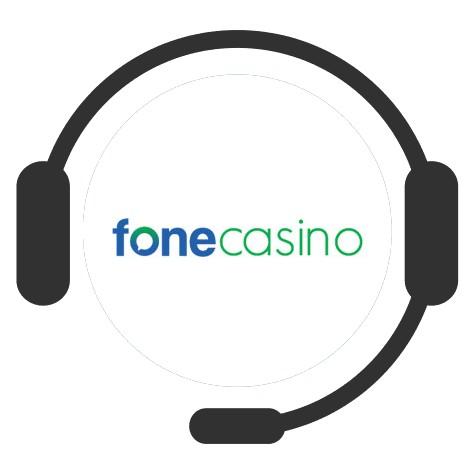 Fone Casino - Support