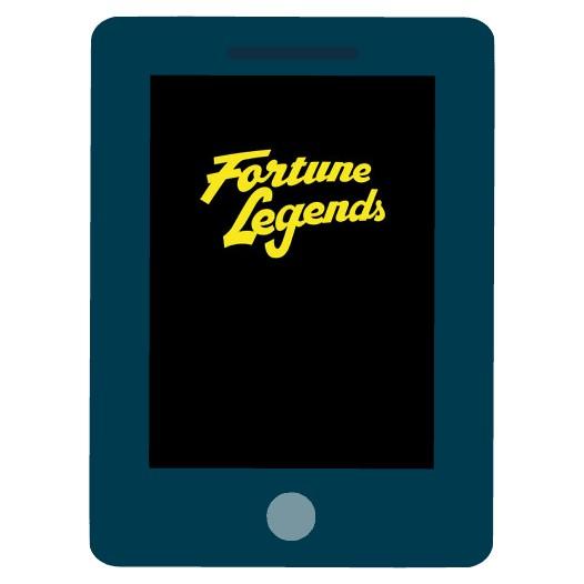Fortune Legends - Mobile friendly