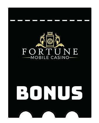 Latest bonus spins from Fortune Mobile Casino