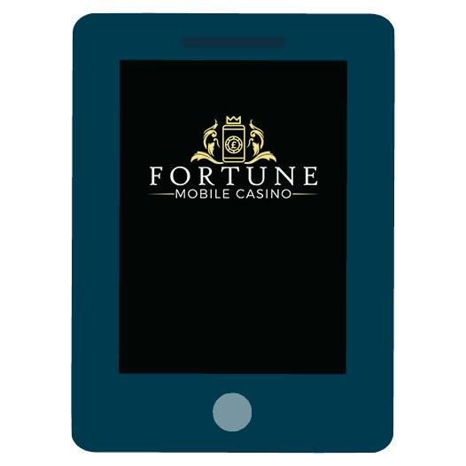 Fortune Mobile Casino - Mobile friendly