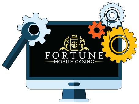 Fortune Mobile Casino - Software