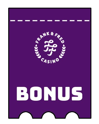 Latest bonus spins from Frank and Fred Casino