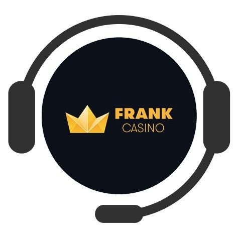 Frank Casino - Support