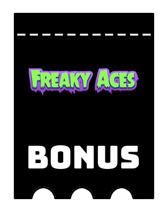 Latest bonus spins from Freaky Aces Casino