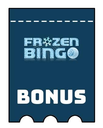 Latest bonus spins from Frozen Bingo