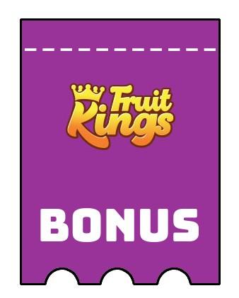 Latest bonus spins from Fruit Kings