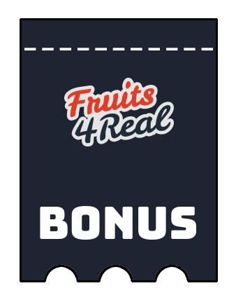 Latest bonus spins from Fruits4Real