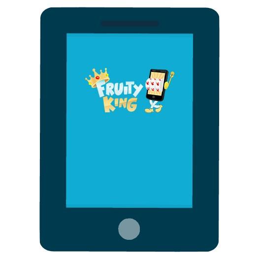 Fruity King Casino - Mobile friendly