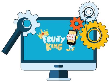 Fruity King Casino - Software