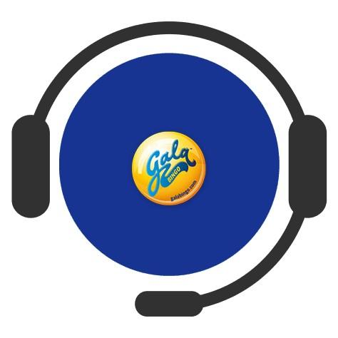 Gala Bingo - Support