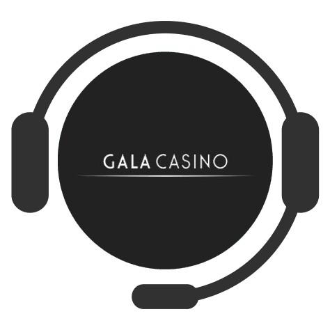 Gala Casino - Support