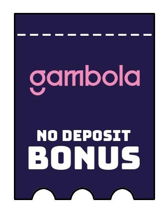 Gambola - no deposit bonus CR