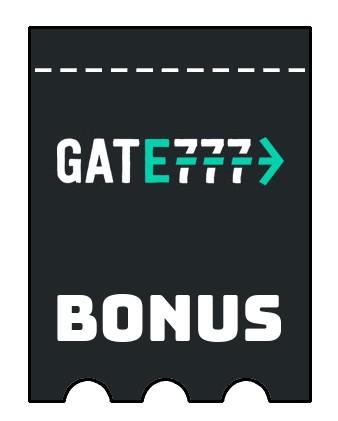 Latest bonus spins from Gate777 Casino