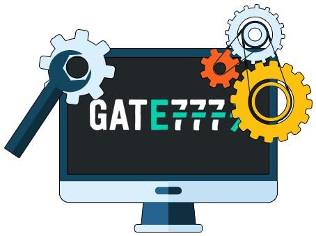 Gate777 Casino - Software