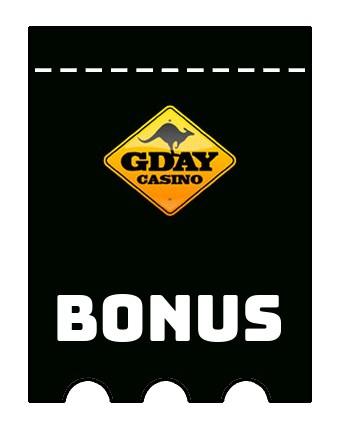 Latest bonus spins from Gday Casino