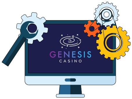 Genesis Casino - Software