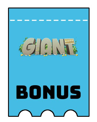 Latest bonus spins from Giant Bingo