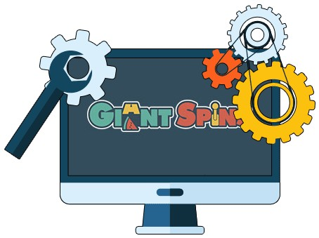Giant Spins Casino - Software