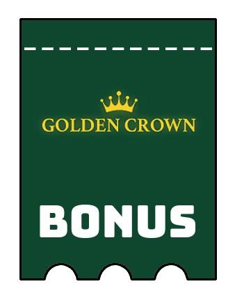 Latest bonus spins from Golden Crown