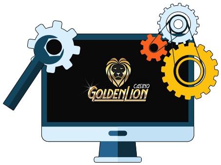 Golden Lion Casino - Software