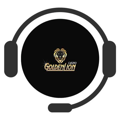 Golden Lion Casino - Support