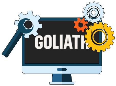 Goliath Casino - Software