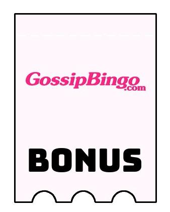 Latest bonus spins from Gossip Bingo