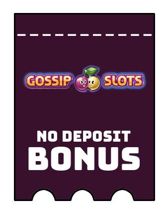 Gossip Slots Casino - no deposit bonus CR