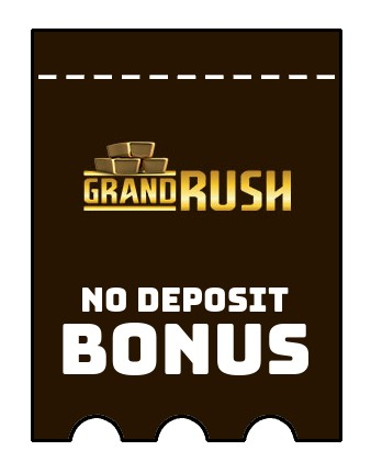 Grand Rush - no deposit bonus CR