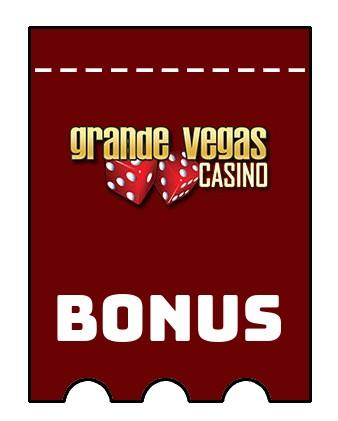Latest bonus spins from Grande Vegas Casino