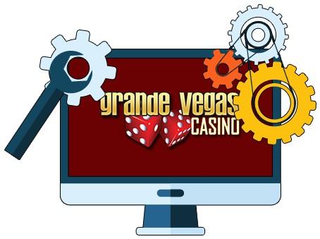 Grande Vegas Casino - Software