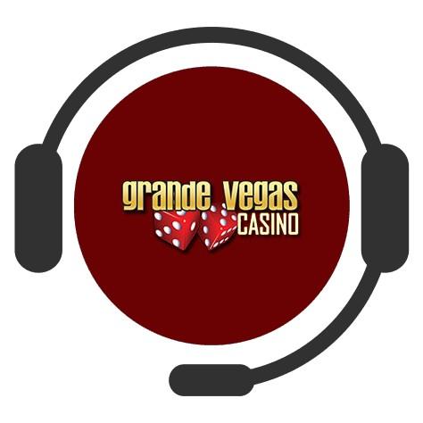 Grande Vegas Casino - Support