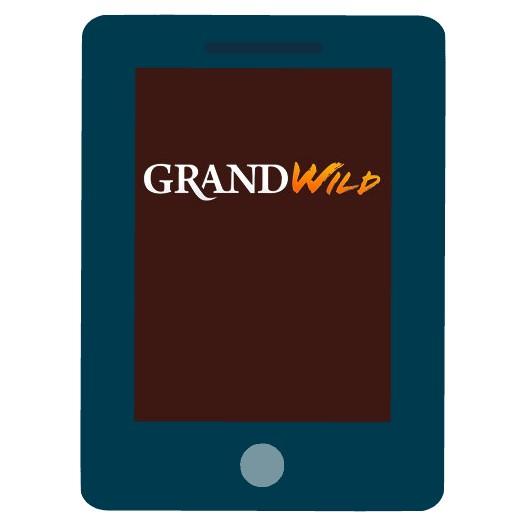 GrandWild Casino - Mobile friendly