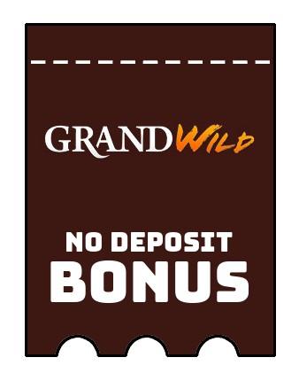 GrandWild Casino - no deposit bonus CR