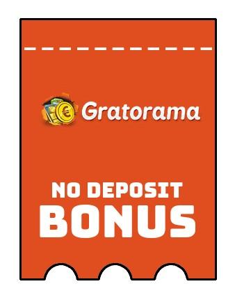 Gratorama Casino - no deposit bonus CR