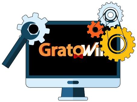 GratoWin Casino - Software