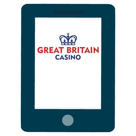 Great Britain Casino - Mobile friendly