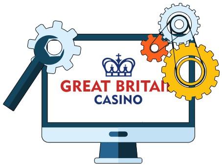 Great Britain Casino - Software