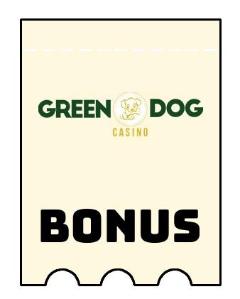 Latest bonus spins from Green Dog Casino