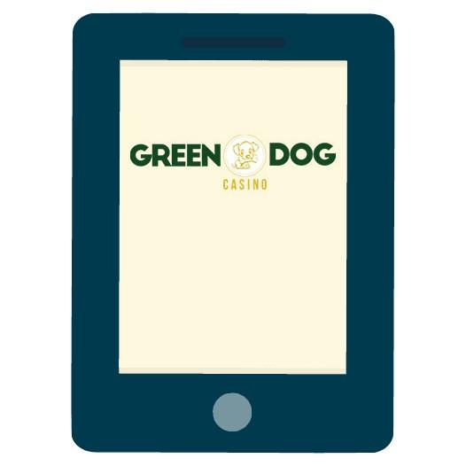 Green Dog Casino - Mobile friendly