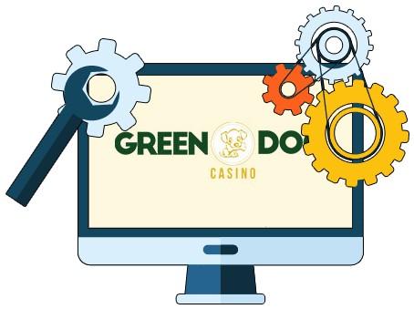 Green Dog Casino - Software
