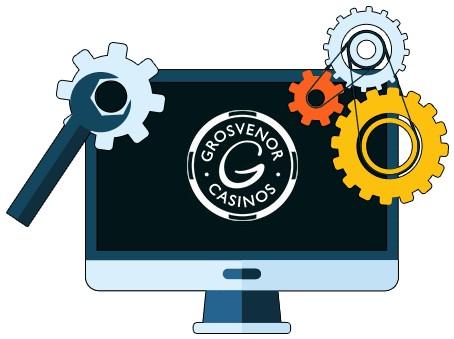 Grosvenor Casino - Software