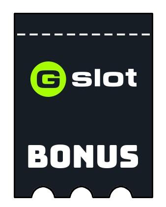 Latest bonus spins from Gslot