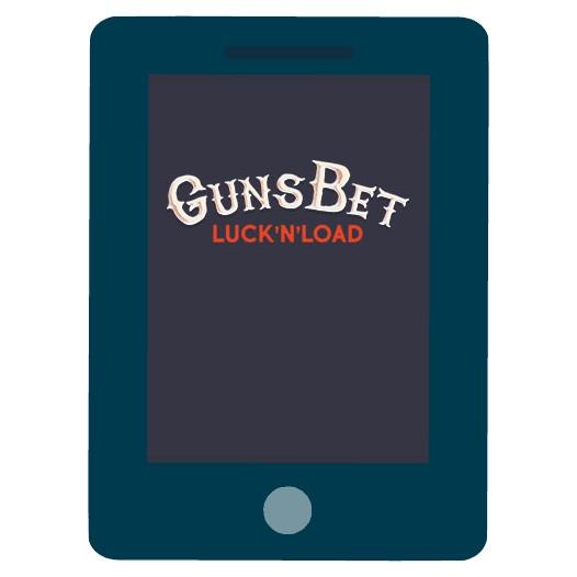 GunsBet Casino - Mobile friendly