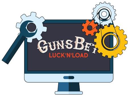 GunsBet Casino - Software
