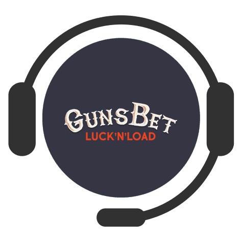 GunsBet Casino - Support