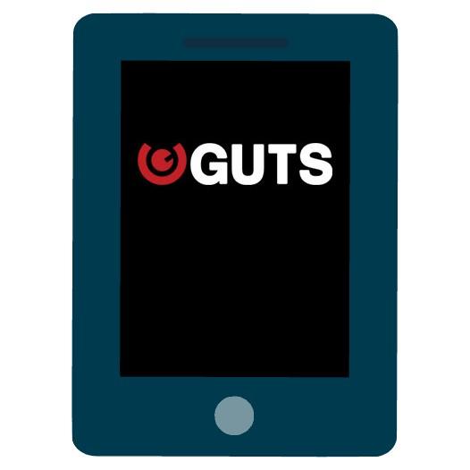 Guts Casino - Mobile friendly