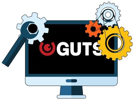 Guts Casino - Software