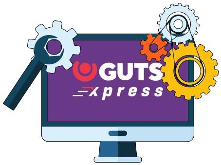 Guts Xpress Casino - Software